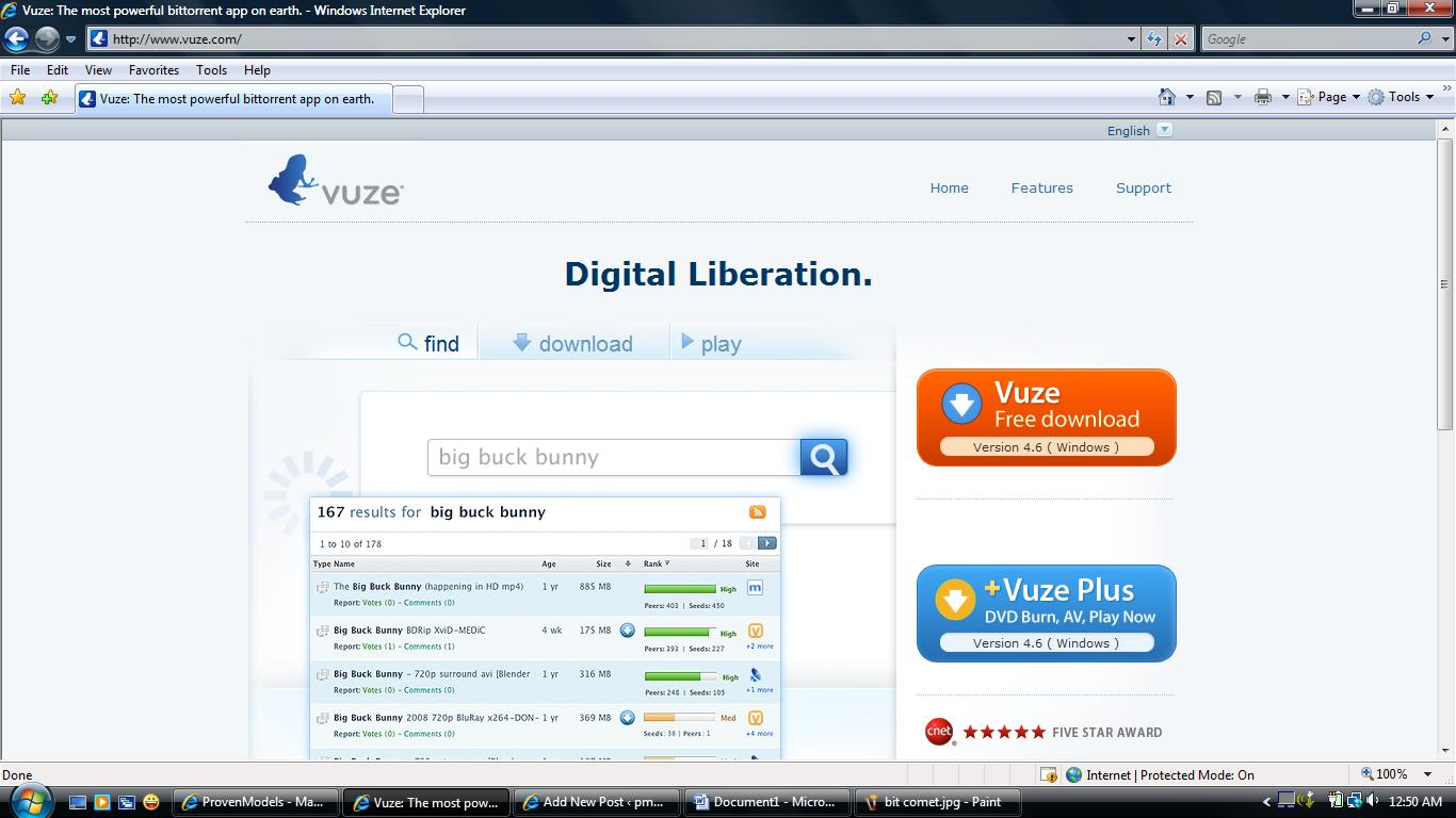 how to download music on vuze